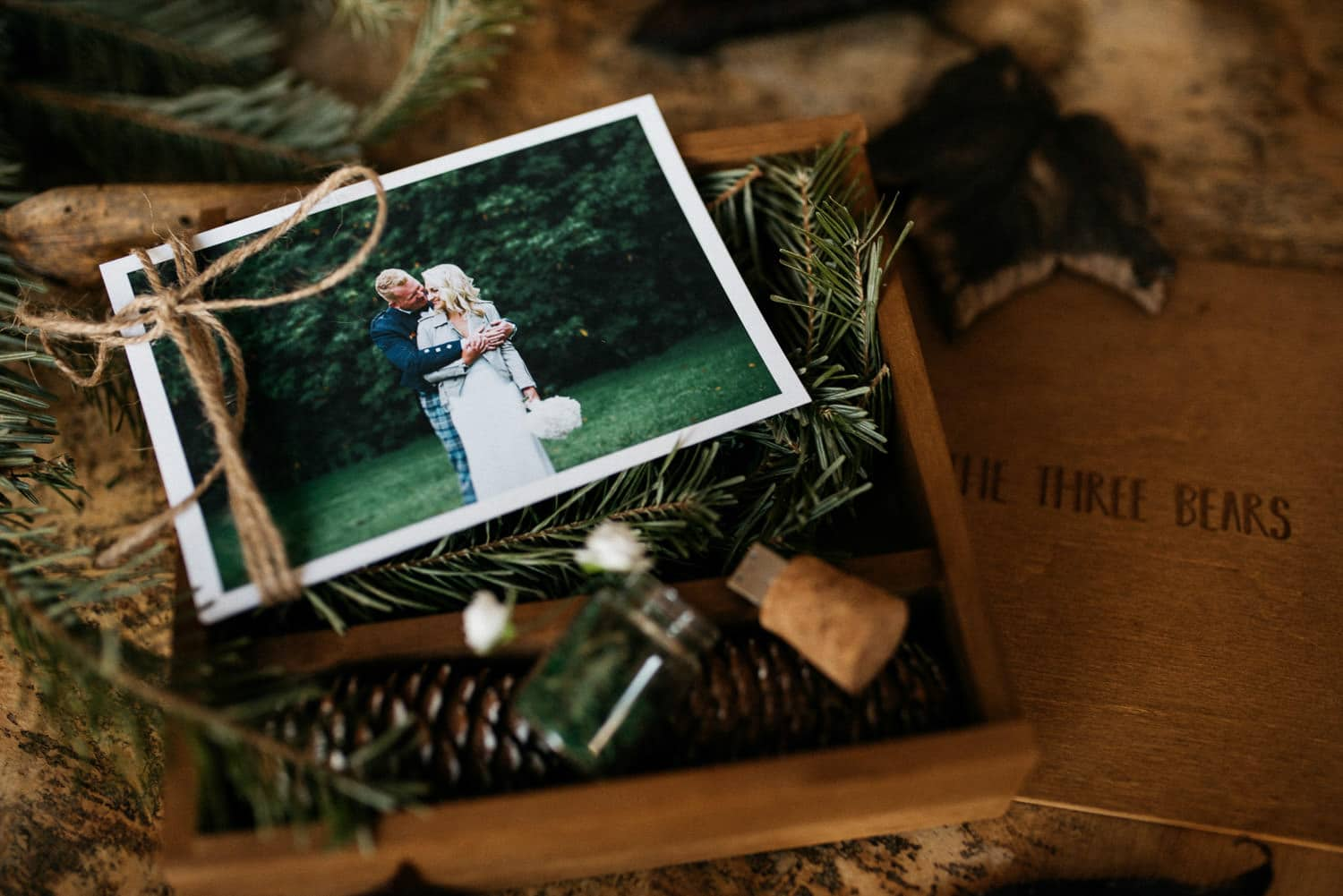 wedding photography galgorm usb box