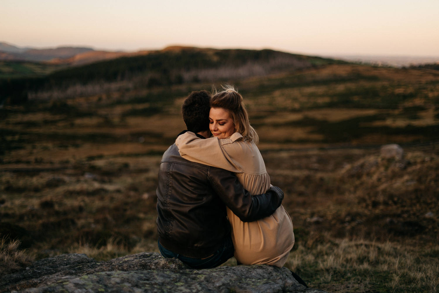 Mourne Mountains Engagement Photography