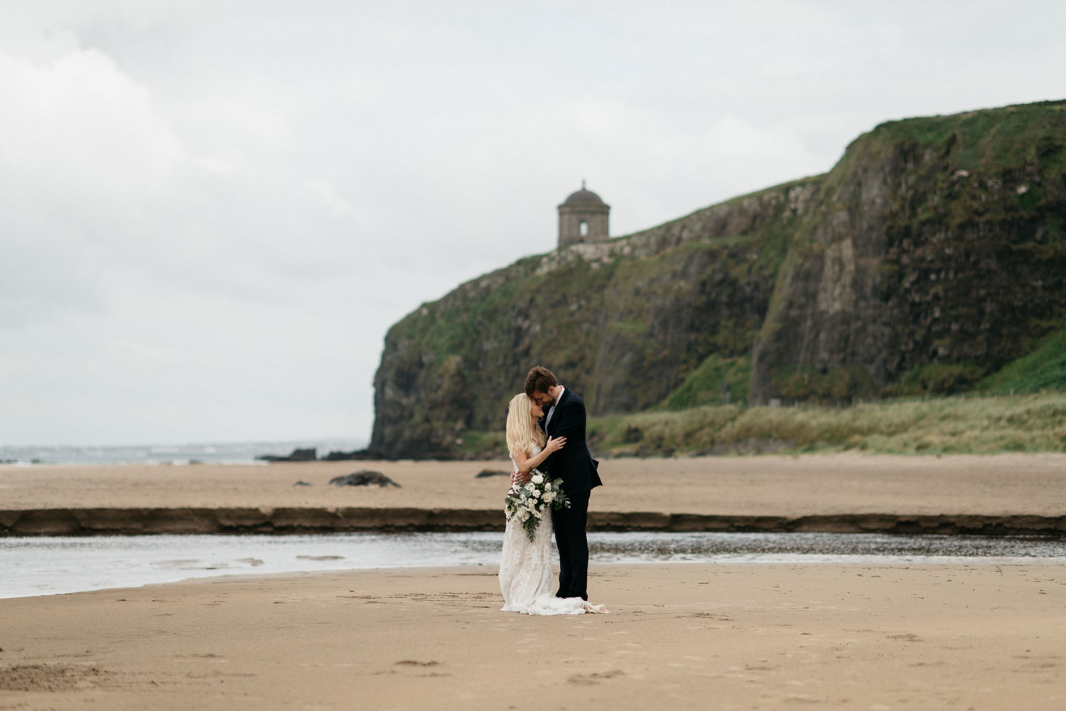 Mussenden Temple Wedding At Downhill Demesne