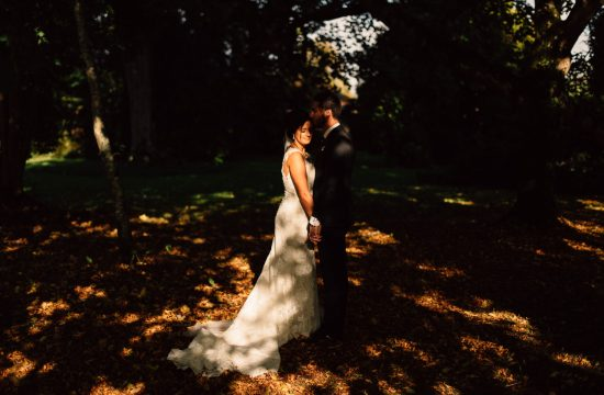 bride and groom portraits Drenagh House Estate Wedding