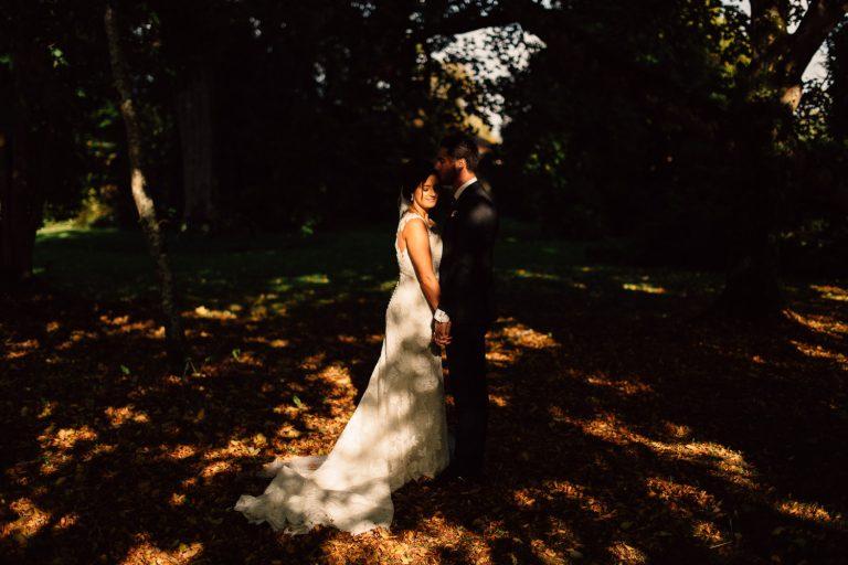 bride and groom portraits Drenagh House Estate Wedding